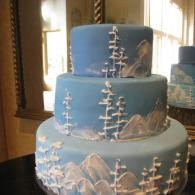 Icy Mountains Cake